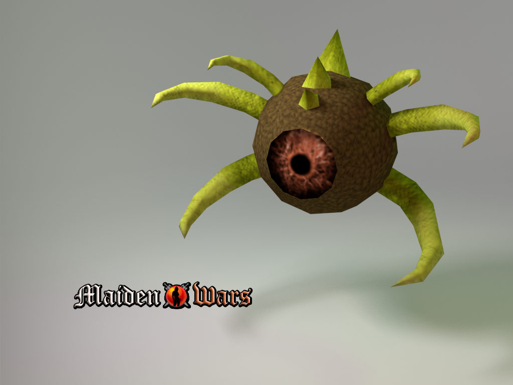 Eyeball render